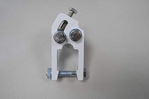 VANA Markise Zubehör & Ersatzteile Armschulter Komponente für Gelenkarmmarkise Zwei Größe B35/B40mm (35mm, weiß)