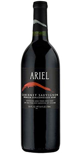 Ariel Cabernet Sauvignon, (NON ALCOHOLIC) (case of 12). California/Estados Unidos. Cabernet Sauvignon. Vino Rojo.