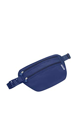 SAMSONITE Global Travel Accessories - RFID Riñonera Interior 26 Centimeters 1 Azul (Midnight Blue)
