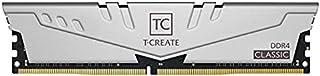 TEAMGROUP T-Create Classic 10L DDR4 32GB Kit (2 x 16GB) 3200MHz (PC4 25600) CL22 Desktop Memory...