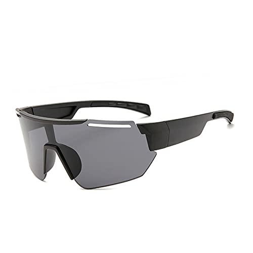 Suufghf Gafas de sol deportivas Gafas de ciclismo al aire libre con montura grande Gafas de sol con revestimiento de colores (A10)