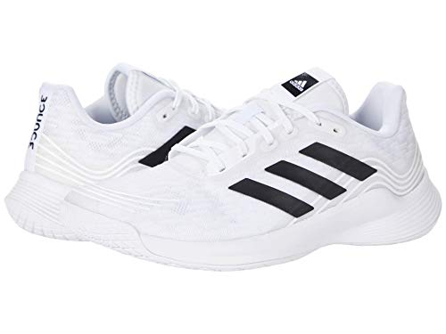 adidas Women's Novaflight Volleyball Shoes, White/Core Black/White, 6.5