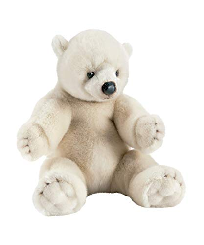 Anima - 1830 - Peluche - Ours Polaire Assis - 35 cm