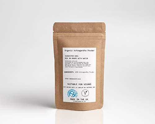 ASHWAGANDHA Organic Powder 100g – Increase Energy Boost