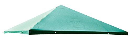 Dachplane 3x3m für Pavillon Pia, Farbe: grün, Ersatzdach, Pavillondach