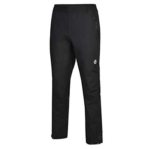 Dare 2b Surpantalon Technique de Protection Homme ADRIOT imperméable, Respirant et résistant avec Coutures Cousues-collées et Zip latéral 3/4 Overtrousers, Black, FR : 3XL (Taille Fabricant : XXXL)
