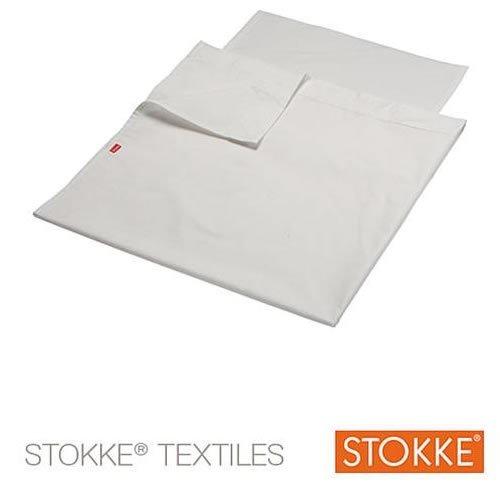 Stokke Top Sheet voor Sleepi Kinderbedje Kleur: wit