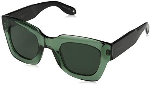 Givenchy GV 7061/S QT 1ED 48 Occhiali da Sole, Verde (Green/Green), Uomo