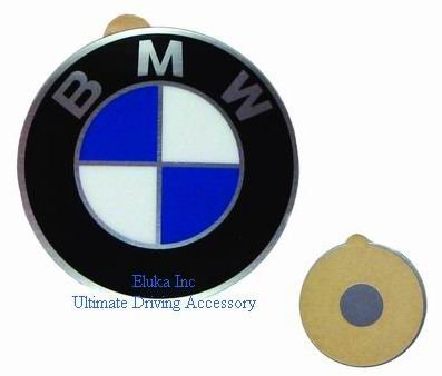 BMW echte Zentrum Radzylinder Kappe Emblem Vinyl 58mm
