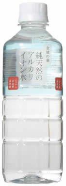 ケイエフジー 金城の華 純天然のアルカリイオン水 ペット 500ml×24本