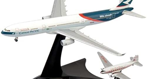 Herpa Wings Cathay Pacific A330-300 & DC-3 Model Airplane by Daron