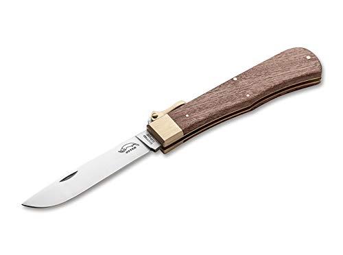 Otter Unisex– Erwachsene Klappbügel-Messer Taschenmesser, Braun, 22,5 cm