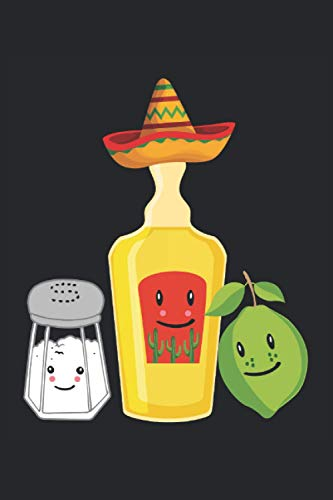 Best Friends Forever Tequila Salz Zitrone Limette Fiesta Mexiko: Notizbuch - Notizheft - Notizblock - Tagebuch - Planer - Kariert - Karierter Notizblock- 6 x 9 Zoll (15.24 x 22.86 cm) - 120 Seiten