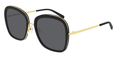 Stella McCartney occhiale da sole SC0206S 001 Nero fumo taglia 55 mm Donna