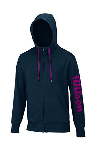 WILSON Veste Sweat à Capuche Zippé avec Logo pour Homme XXL Gris - Gris