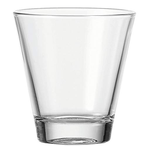 Leonardo Ciao Trink-Gläser, 6er Set, spülmaschinengeeignete Wasser-Gläser, Trink-Becher aus Glas, Saft-Gläser, Getränke-Set, 215 ml, 012666