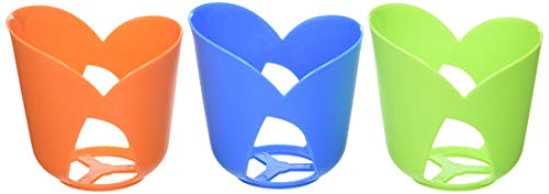 BRUNNER Glass Base Set, Colori assortiti, 6 pezzi