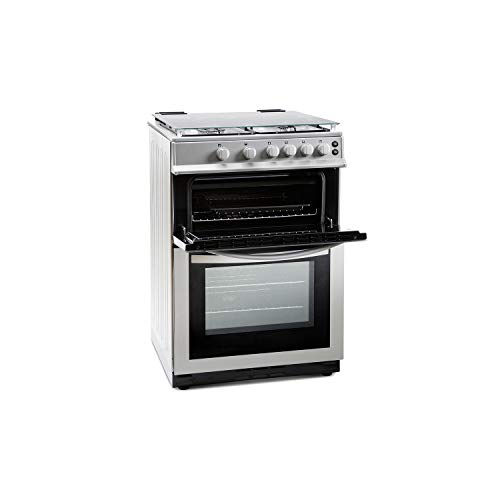 Montpellier MDG600LS 60cm Double Oven Gas Cooker With Lid...