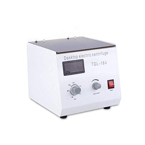 16000 RPM High Speed Lab Laboratory Benchtop Centrifuge Lab Medical Practice Centrifuge 1.5ml x 12 Working Capacity with Timer and Speed Control