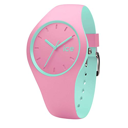 Ice-Watch - ICE duo Pink Mint - Women's wristwatch with silicon strap - 001493 (Small)