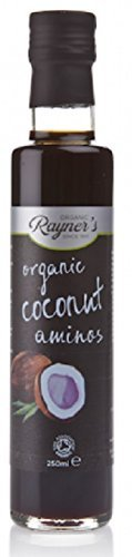 Rayners Organic Coconut Aminos - 250ml (6 Pack Bundle)
