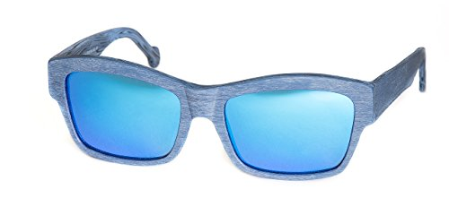 MUNICH ART FRAMES Gafas de sol unisex Norton Blue Wood Sun