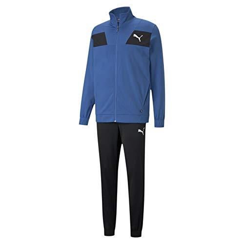 PUMA Herren Trainingsanzug Techstripe Tricot Suit CL 585838 Star Sapphire L