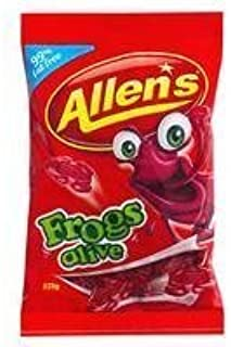 Allens Frogs Alive Jellies 190g by Allens