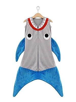 BabyTails - Shark Baby - Wearable Blanket - Sleepbag