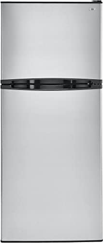 Haier HA10TG21SS 24 Inch Freestanding Counter Depth Top Freezer Refrigerator Stainless Steel product image