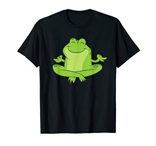 Frosch Kambo Dschungel Frosch Medizin Yoga-Frosch T-Shirt