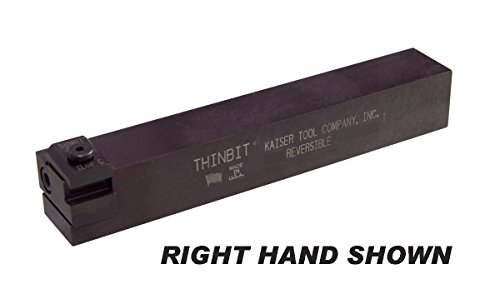 THINBIT SRE3434 Small Series Straight Reversible Head for Left or Right Hand on a 3/4 inch x 3/4 inch toolholder Shank. Use with Any 'S' Series Insert.