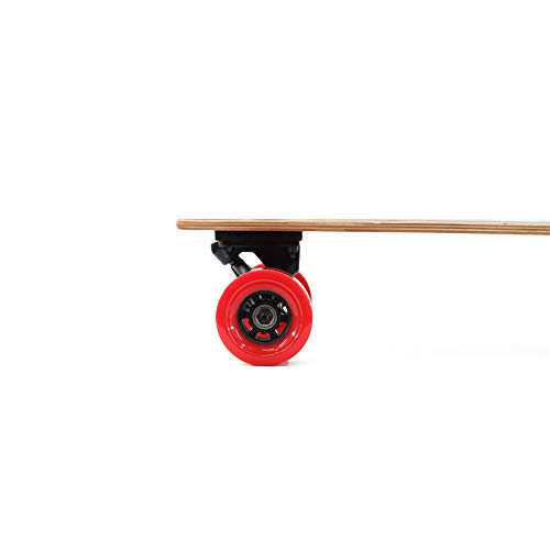 Alouette Phoenix Ryders Electric Skateboard Longboard 4.4AH Lithium Battery,Dual Motor Each 250W, 32 Inches Maple with Remote Control