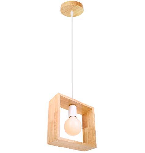 Chandelier de granja Lámpara colgante contemporánea retro colgante de altura ligera ajustable E27 hierro madera luces de techo araña lámpara de iluminación decorativa de gama alta adecuada para hotel