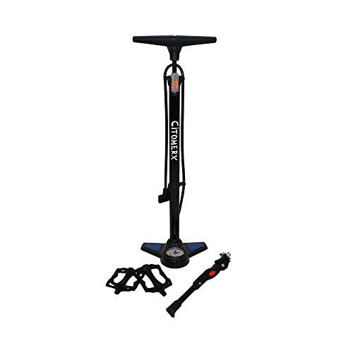 CMX Fahrrad Set III Pedale Striker + Luftpumpe + Ständer einzeln