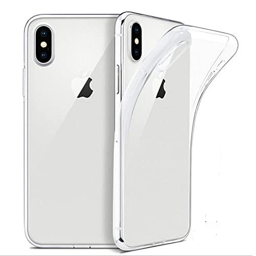 Funda de teléfono ultradelgada para iPhone 11 12 Pro Mini 6 6S 7 8 Plus 5 5S SE X XS MAX XR SE 2020 Funda de Silicona Suave Transparente, A, para iPhone SE 2020