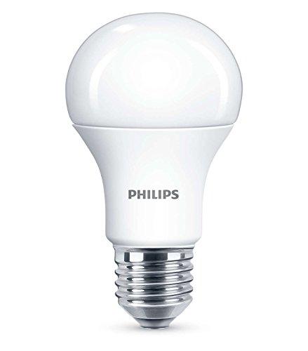 Philips Lighting Bulb Lampadina LED Goccia, Attacco E27, 5W Equivalenti a 40W, 4000K, 5 W, Bianco, 6 x 6 x 11