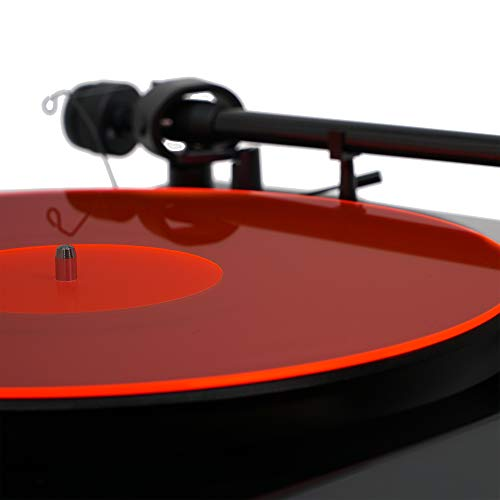 Acrylic Turntable Mat – RedLit (can Look Pink Under Different Light Conditions) | LP Slipmat