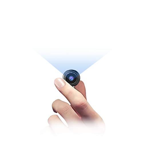 Mini Kamera Bewegungserkennung,NIYPS Full HD 1080P Mini Cam, Mikro Akku Überwachungskamera mit Infrarot Nachtsicht und Magnet, Kabellose Kleine Kamera mit Aufzeichnung für Innen und Aussen