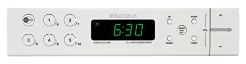 Grundig Sonoclock 690 Uhrenradio weiss