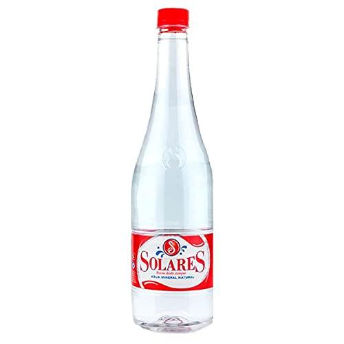 Agua Mineral Natural Solares Botella de 1 litro