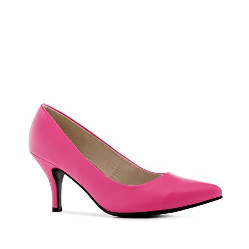 Andres Machado - Klassische Pumps in Soft Pink.EU 43