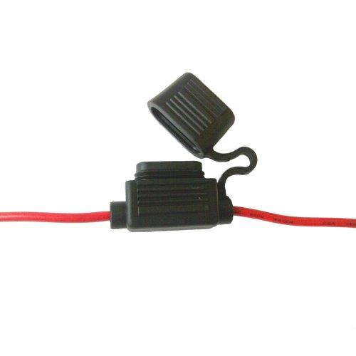 In Line Blade Fuse Holder In-Line Red 20 amp