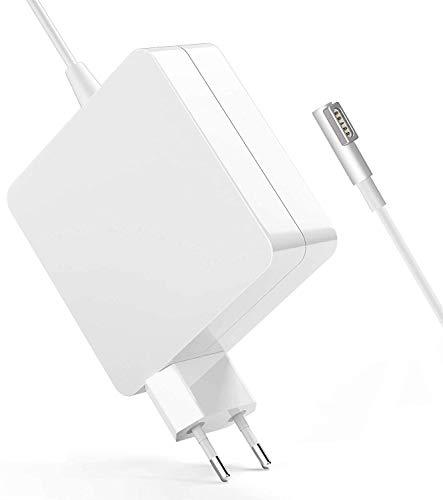 """SunMac Chargeur Mac Book Pro 60W, Mag Safe 1 Compatible avec Mac Pro 13"""" 15"""" Pouces 2009 2010 2011 2012à Mi-2012, Chargeur en L-Tip Magnétique pour A1212 A1286 A1278 A1181 A1184 A1344 A1330 A1343 etc"""