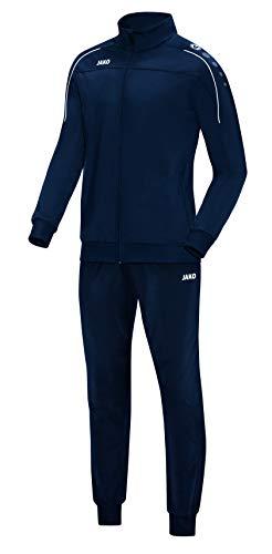 JAKO Survêtement Classico en polyester pour homme, bleu marine, 4XL