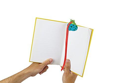 Frosch Lesezeichen in grün magnetisch   Froggy Bookmark