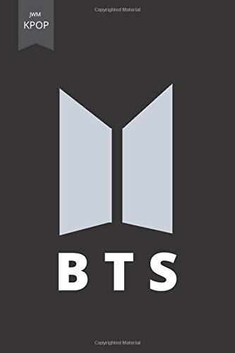 B T S: bts notebook, kmusic, kpop, diary (110 Pages, Blank, 6 x 9)