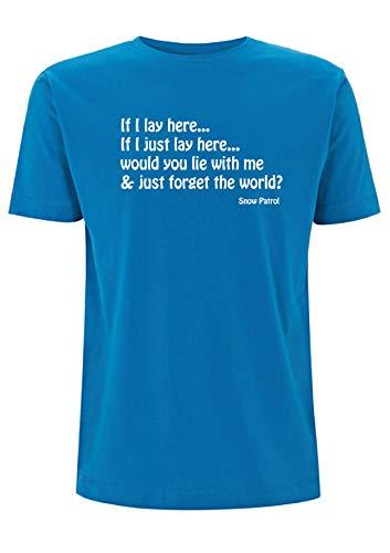 Letra de canción Time 4 Tee Snow Patrol - Camiseta de manga...