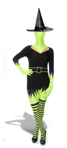 Morphsuits Premium Witch (Green, XL)