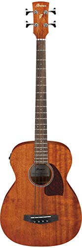 Ibanez PCBE12MH-OPN Electro-Acoustic Bass Guitar - Open Pore Natural